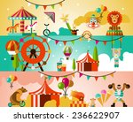 circus entertainment... | Shutterstock . vector #236622907