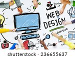 content creativity digital... | Shutterstock . vector #236655637