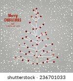 christmas tree illustration  | Shutterstock .eps vector #236701033
