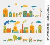 ecology set | Shutterstock .eps vector #236708677