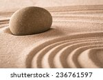 spirituality stone and lines in ... | Shutterstock . vector #236761597