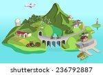 eco island  | Shutterstock .eps vector #236792887