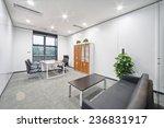modern office room and corridor ... | Shutterstock . vector #236831917