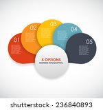 infographic templates for... | Shutterstock .eps vector #236840893