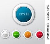 button set | Shutterstock .eps vector #236874343