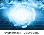 digital abstract business... | Shutterstock . vector #236918887