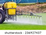Tractors Sprayed With...