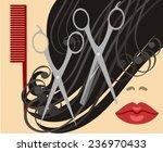 haircut   Shutterstock .eps vector #236970433