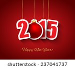 2015 new year background | Shutterstock .eps vector #237041737