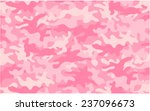 girly camo | Shutterstock .eps vector #237096673