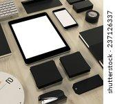 mockup business template | Shutterstock . vector #237126337