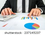 front view of the hands of a...   Shutterstock . vector #237145237