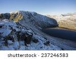 View Across Mountain Lake In...
