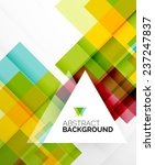 square shape abstract layouts ... | Shutterstock .eps vector #237247837