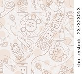phone pattern | Shutterstock .eps vector #237323053