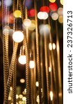 lights decoration with bokeh   Shutterstock . vector #237326713