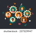 modern vector illustration of... | Shutterstock .eps vector #237329947