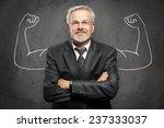 strong businessman   Shutterstock . vector #237333037