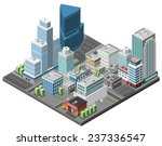 City Downtown Concept With...