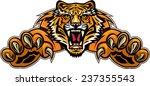 tiger jump   Shutterstock .eps vector #237355543