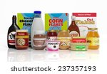 3d collection of packaged... | Shutterstock . vector #237357193