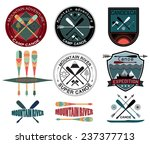 set of  vintage expedition... | Shutterstock .eps vector #237377713