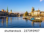 buildings at the embankment of... | Shutterstock . vector #237393907
