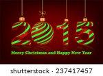 elegant new year 2015 ... | Shutterstock .eps vector #237417457