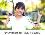 Closeup cute little asian girl...