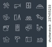 home repair icons | Shutterstock .eps vector #237455233