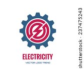 electricity   vector logo...   Shutterstock .eps vector #237475243