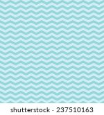 pattern in sky blue zigzag  | Shutterstock .eps vector #237510163