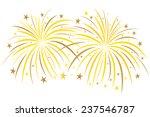fireworks | Shutterstock .eps vector #237546787