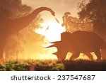 Постер, плакат: Mysterious Magical Prehistoric Fantasy