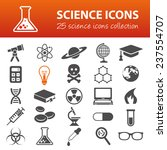science icons | Shutterstock .eps vector #237554707