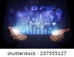 futuristic medicine | Shutterstock . vector #237555127