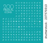 health care   medical icon set | Shutterstock .eps vector #237570313