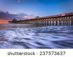 The Fishing Pier At Sunrise  I...