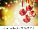 christmas decoration | Shutterstock . vector #237602017