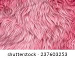 Close Up Of A Pink Dyed...