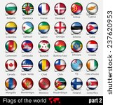 flags of all countries in the... | Shutterstock .eps vector #237620953