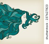 illustration of a beautiful... | Shutterstock .eps vector #237627823