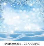 winter background  | Shutterstock . vector #237739843