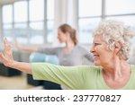 close up shot of elderly woman... | Shutterstock . vector #237770827