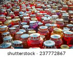 memorial day   group of candles ... | Shutterstock . vector #237772867