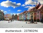 old  market poznan  poland | Shutterstock . vector #23780296