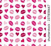 primitive seamless retro... | Shutterstock .eps vector #237858667