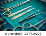 surgical instruments and tools... | Shutterstock . vector #237919273