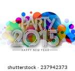 new year 2015 text design   Shutterstock .eps vector #237942373