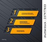 modern infographic  realistic... | Shutterstock .eps vector #237977833